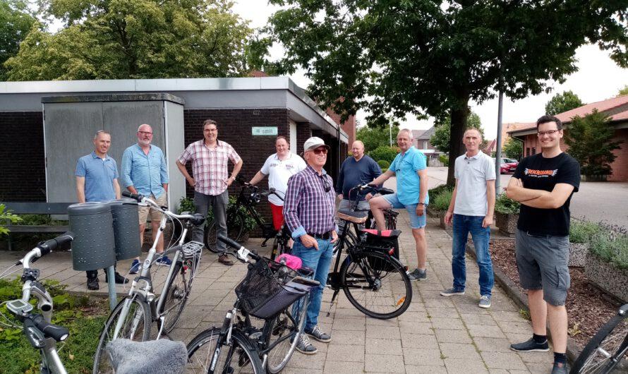 Fahrradtour durch die Wahlbezirke in Oeding