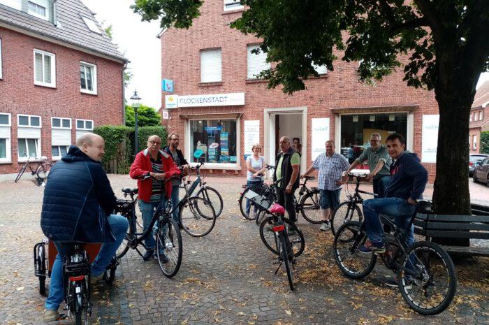 Fahrradtour durch die Wahlbezirke in Südlohn