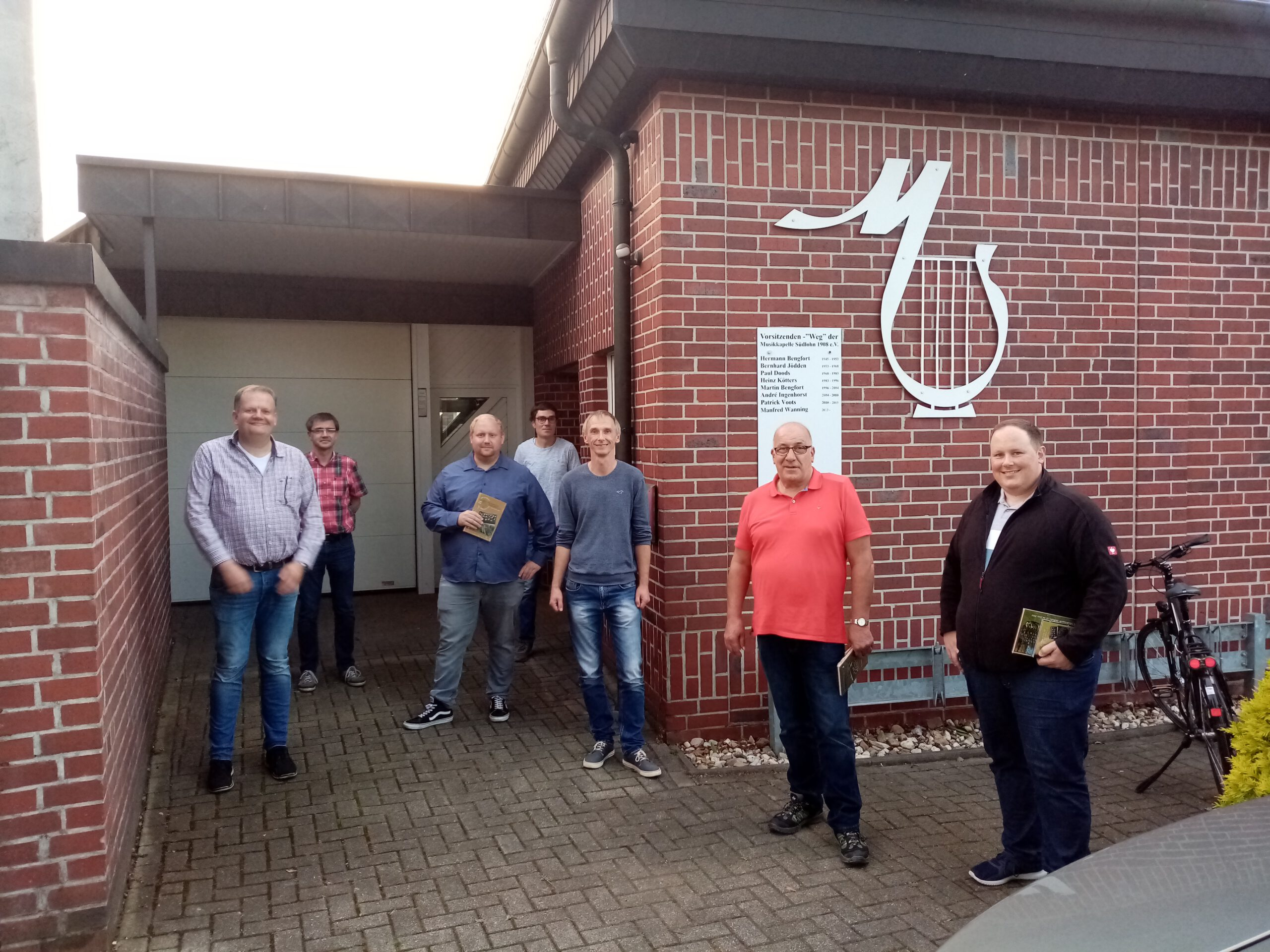 Besuch Musikkapelle Südlohn