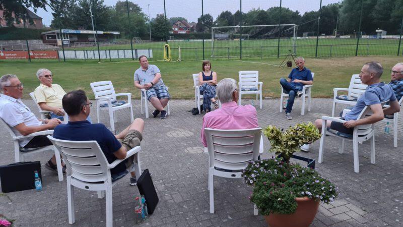 Besuch FC Oeding