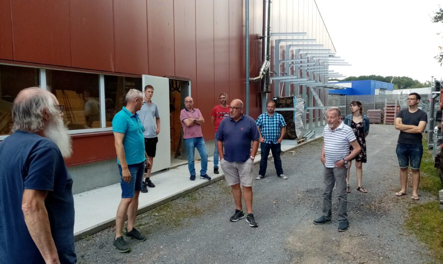 Besuch des Familienbetriebes Bernd Schüring