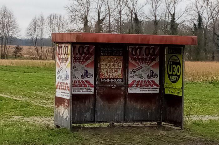 Erneuerung der Bushaltestelle Jakobistraße