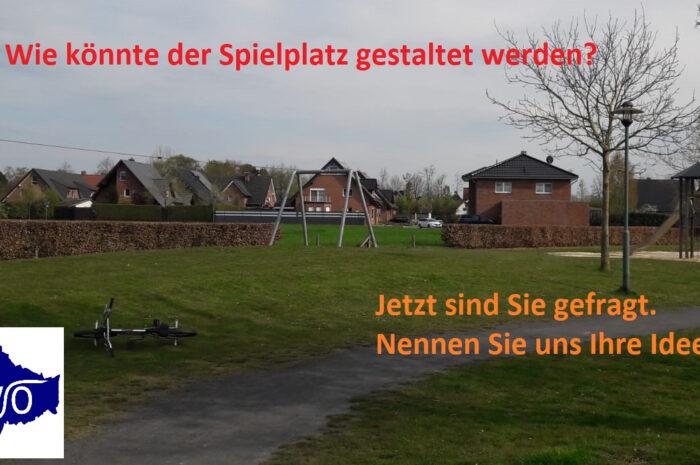 Spielplatzplanung Scharperloh: Jetzt sind Sie gefragt