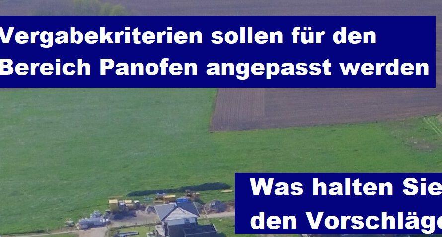 Vergabekriterien Baugebiet Burloer Str. West / Panofen